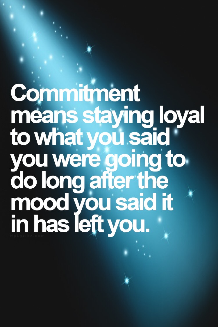 Commitment is the key – training and healthy eating