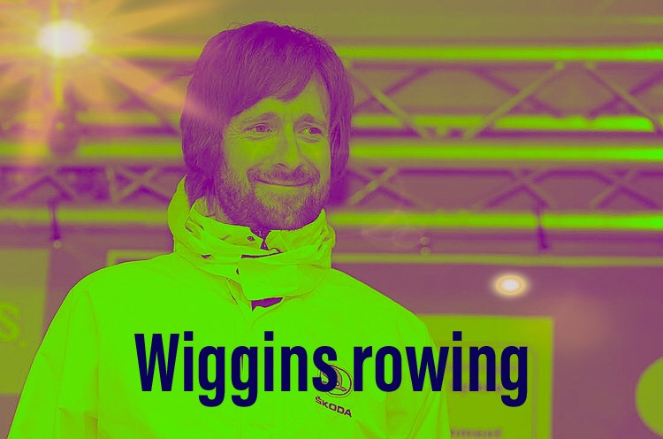 Bradley Wiggins disappointed in rowing debut