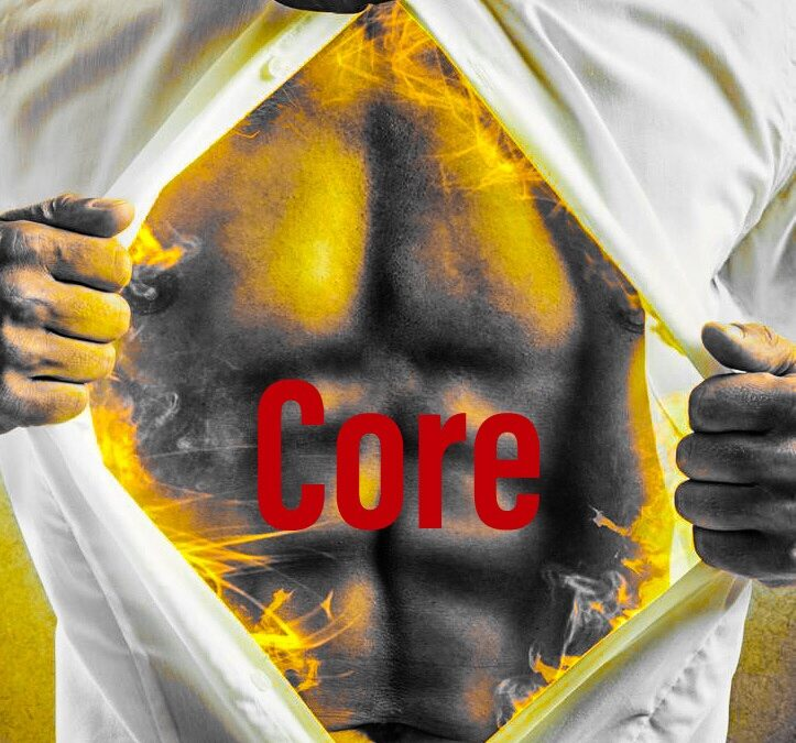 Partner core exercise 500 reps!