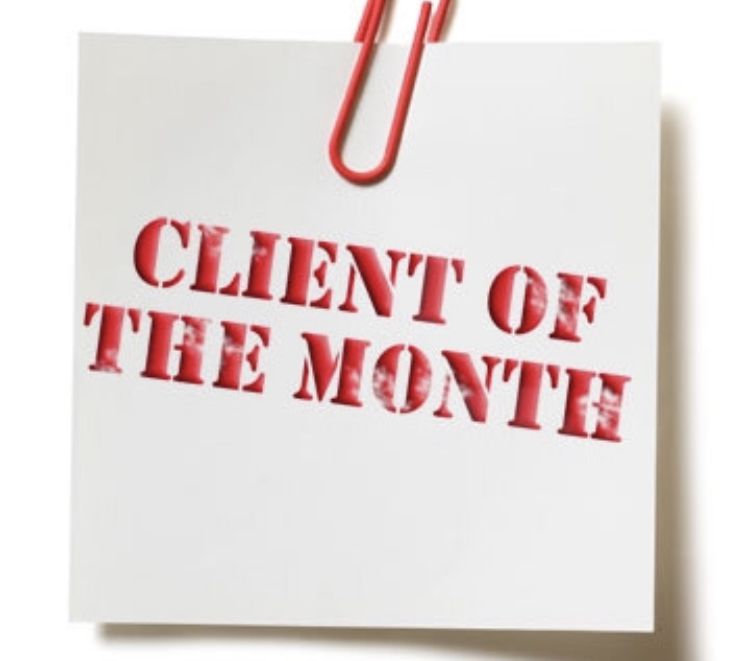 KEVIN – MAY 2019 CLIENT OF THE MONTH