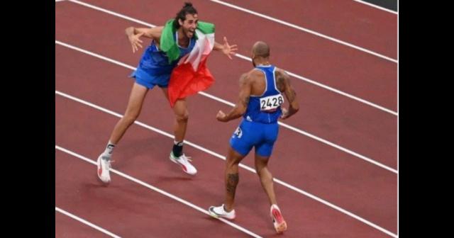 Italy winning golds
