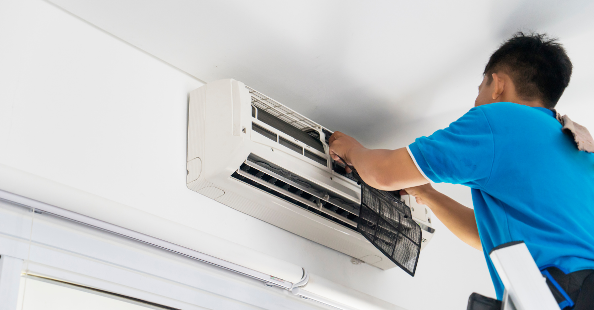 air conditioning risk in gyms
