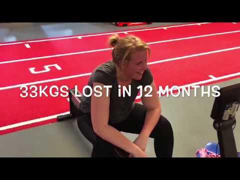 35kgs lost in 12 months!